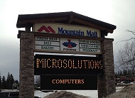 MicroSolutions Computer Services Whitefish Mountain Mall